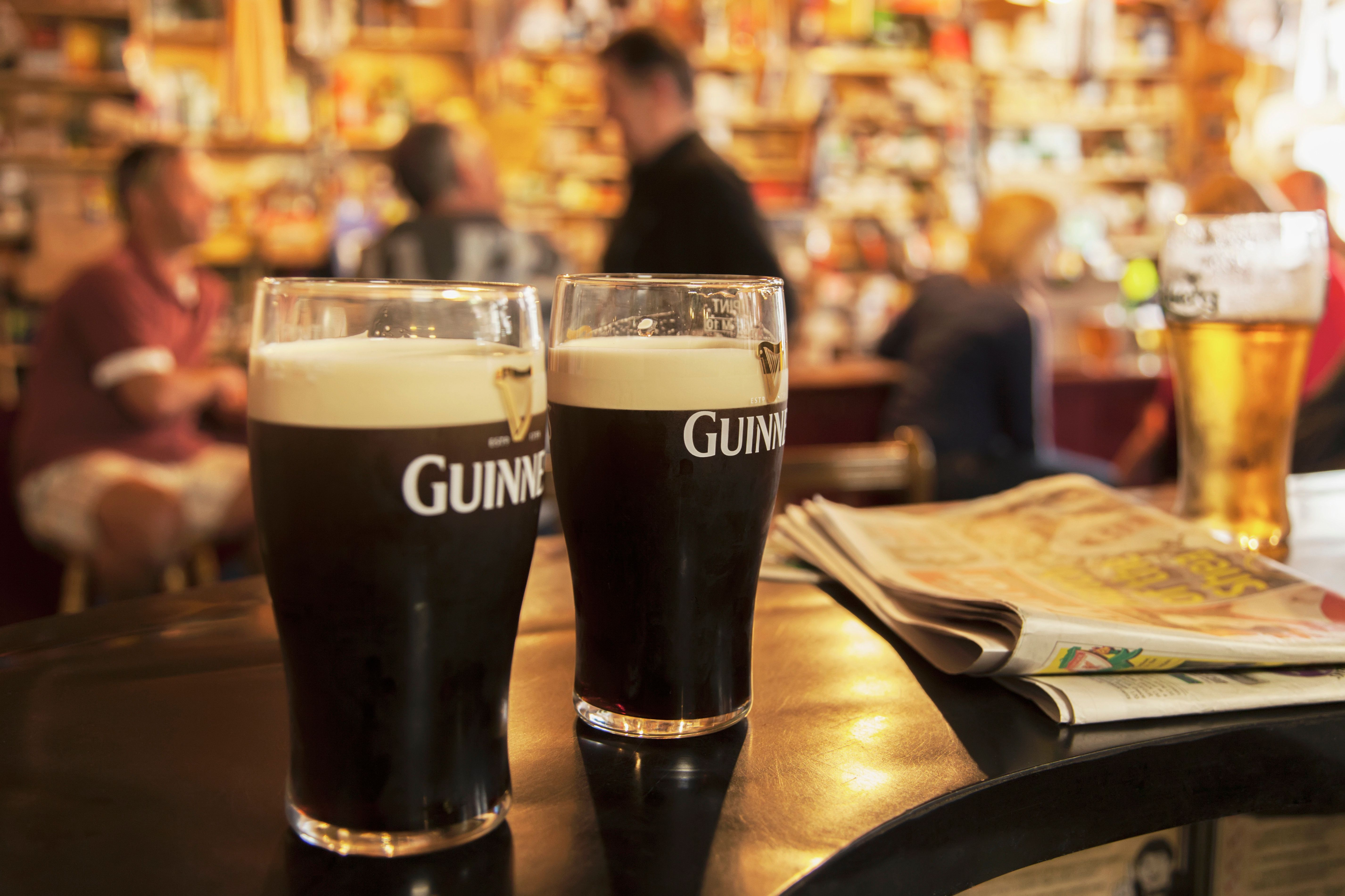 Fact: Guinness Beer Is Actually Red, Not