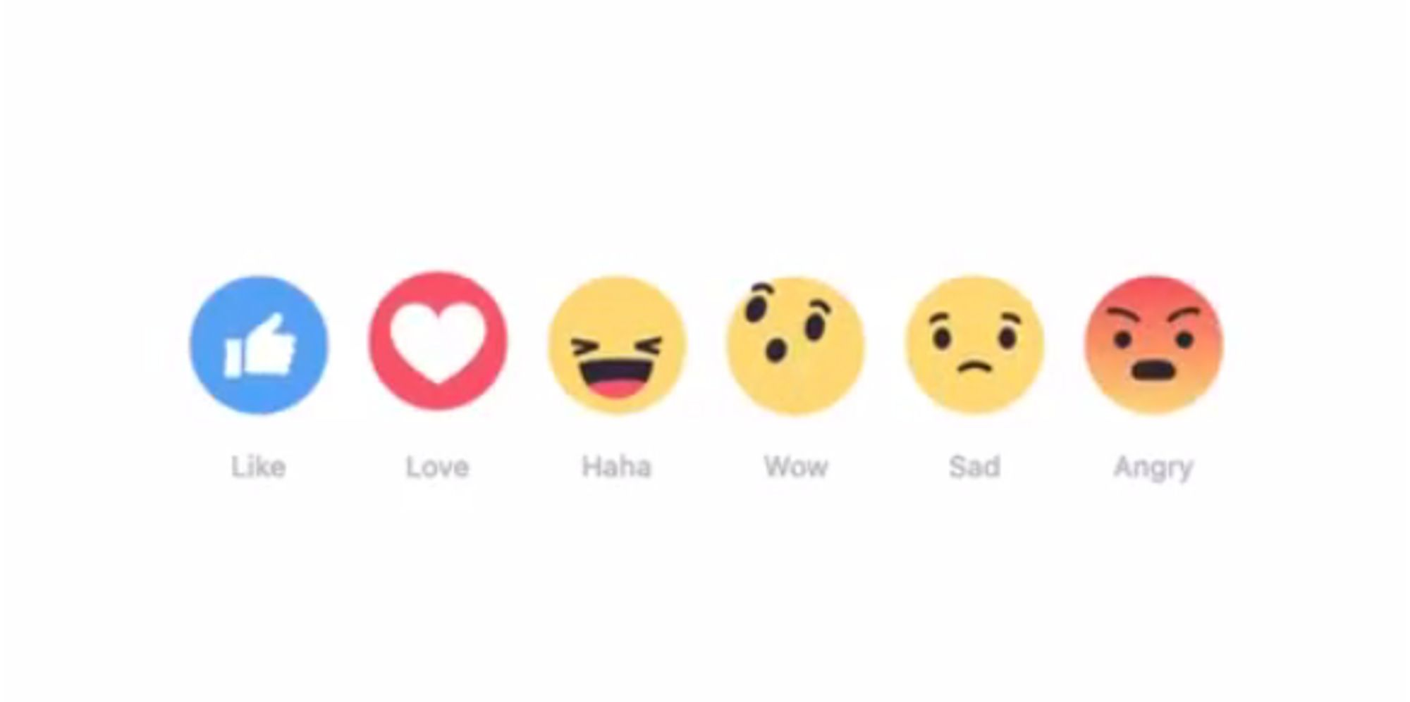 Facebook Prioritizes What Makes You 'Sad' or 'Angry' Over What You 'Like'
