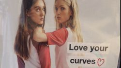 Zara's Under Fire For Putting Thin Models In A 'Love Your Curves'