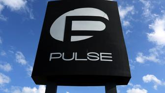 The Pulse nightclub sign is pictured following the mass shooting last week in Orlando, Florida, U.S. on June 21, 2016.  REUTERS/Carlo Allegri/File Photo