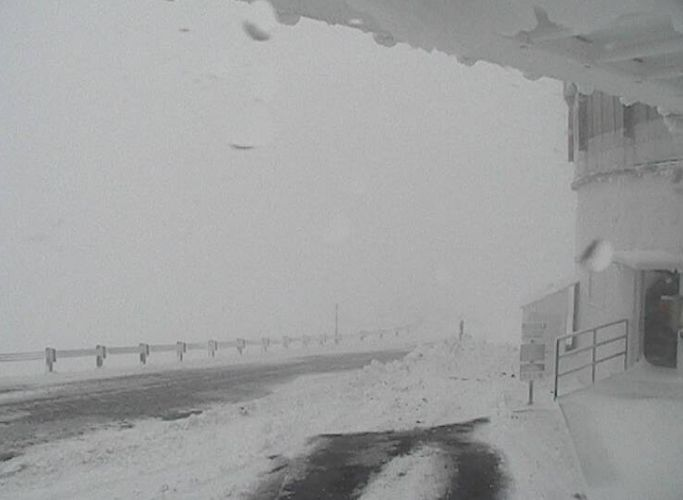 A still taken from from Hawaii's Mauna Kea Weather Centers' UKIRT web camera on Wednesday at 12:05 p.m.