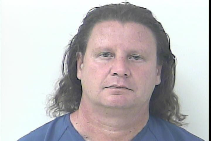 Lee Howard Koenig in a booking photo from Port St. Lucie police.