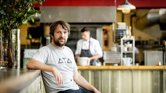 Danish chef Rene Redzepi, co-owner of the restaurant Noma in Copenhagen, Denmark, poses for a photograph prior to a premiere of 'Ants on a Shrimp' in Amsterdam, on September 1, 2016.  The documentary is about the chef-cook who along with his team enters the biggest culinary experiment in his life. / AFP / ANP / Robin van Lonkhuijsen / Netherlands OUT        (Photo credit should read ROBIN VAN LONKHUIJSEN/AFP/Getty Images)