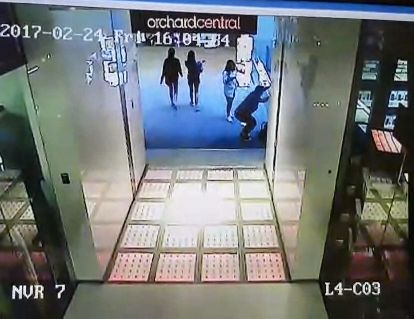 The Orchard Center mall confirmed the authenticity of leaked footage fromthe incident, according to local reports.