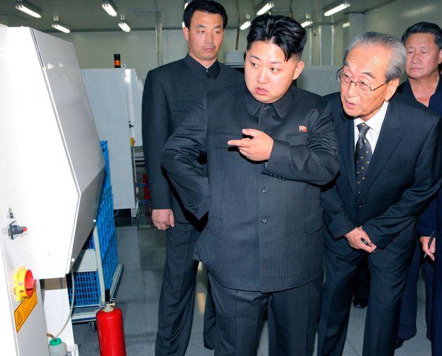 Kim Jong-un and his