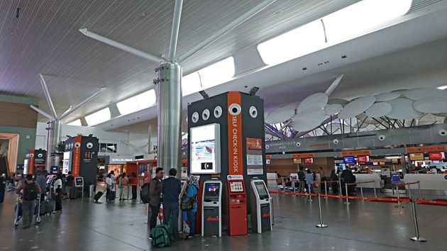 Travellers from Indonesia use the exact check in kiosk machine believed to the one used by Kim Jong Nam...