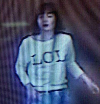 CCTV of one Huong, of the Kim Jong-nam's alleged
