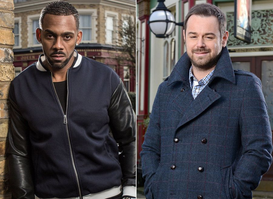 Richard Blackwood Claims 'EastEnders' Cast Have 'No Idea' When Danny Dyer Is