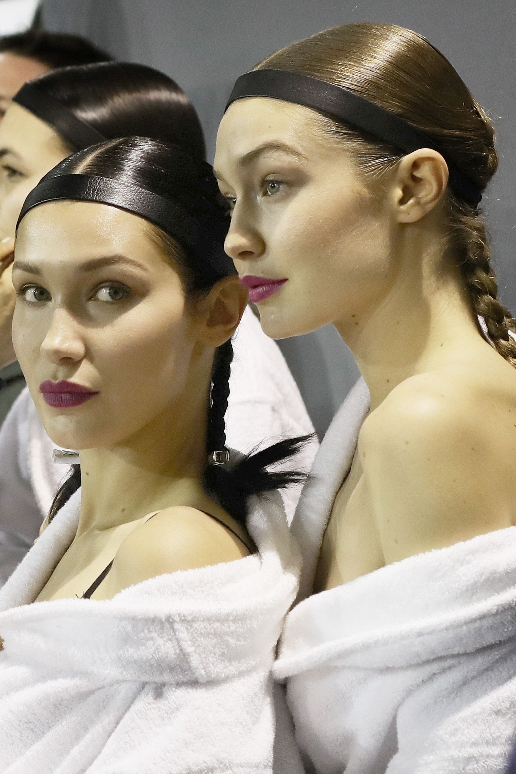 H&M Backstage Photos Prove Bella Hadid Always Has Her Game Face
