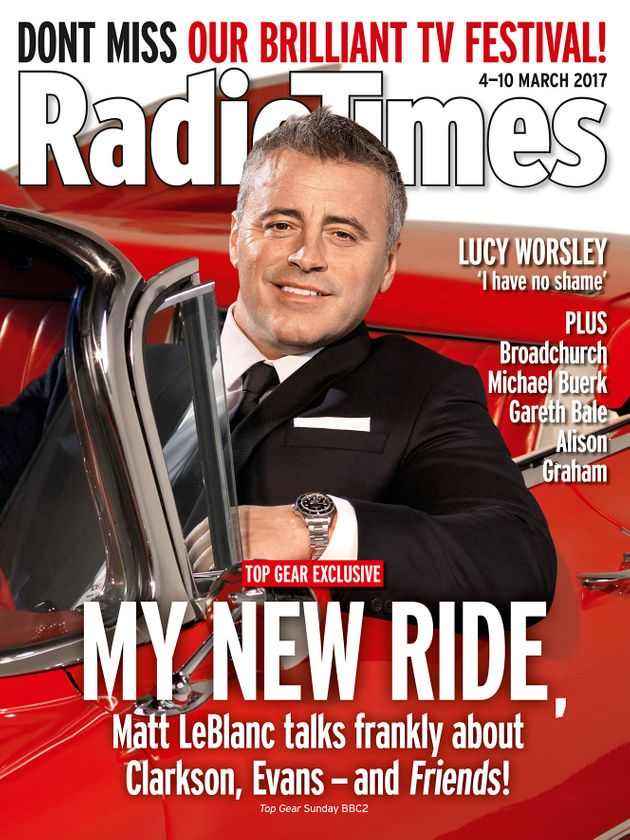 'Top Gear' Presenter Matt LeBlanc Reveals 'Friends' Fan Called Him Joey's