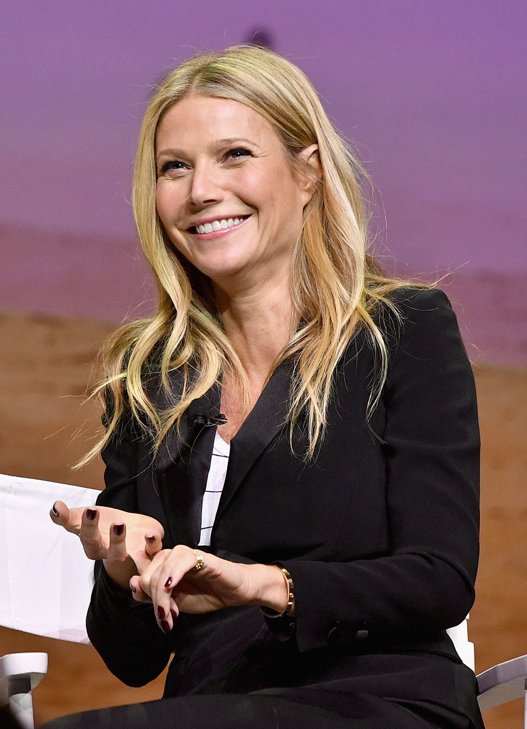 LOS ANGELES, CA - NOVEMBER 19:  Actress and Founder of goop, Gwyneth Paltrow speaks onstage at Cultivating the Art of Taste & Style at the Los Angeles Theatre during Airbnb Open LA - Day 3 on November 19, 2016 in Los Angeles, California.  (Photo by Mike Windle/Getty Images for Airbnb)