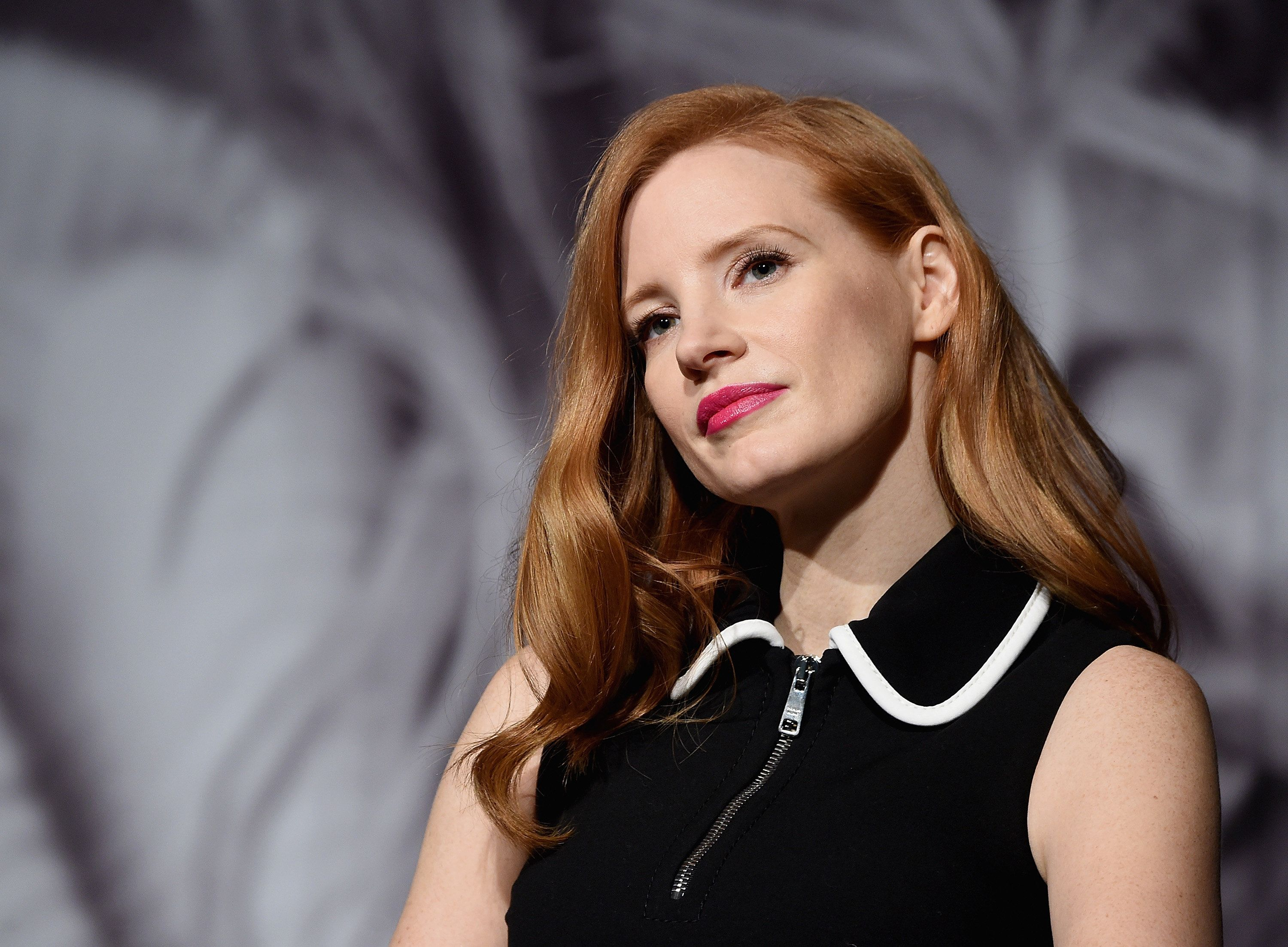 NEW YORK, NY - FEBRUARY 13:  Jessica Chastain attends The Pirelli Calendar Presents: Peter Lindbergh On Beauty panel at Cipriani Wall Street on February 13, 2017 in New York City.  (Photo by Jamie McCarthy/Getty Images)