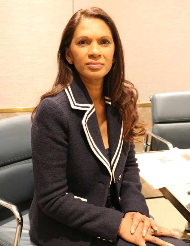 Gina Miller during her HuffPost UK interview at her office in South