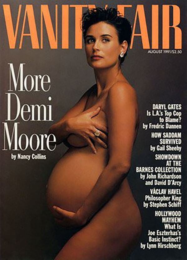 Even though Demi Moore's nude, pregnant photoshoot happened more than 20 years ago, it still feels significant. Moore was sev