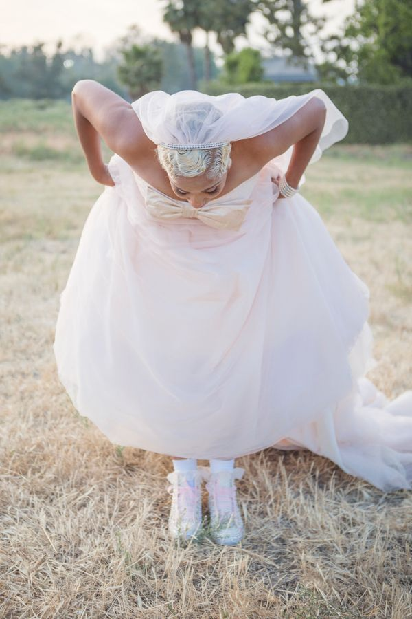 Alternative Wedding Shoes For Brides Who Live In Sneakers