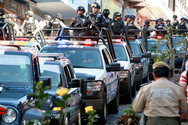 Homicide numbers surged following the launch of former President Felipe Calderón's military campaign.
