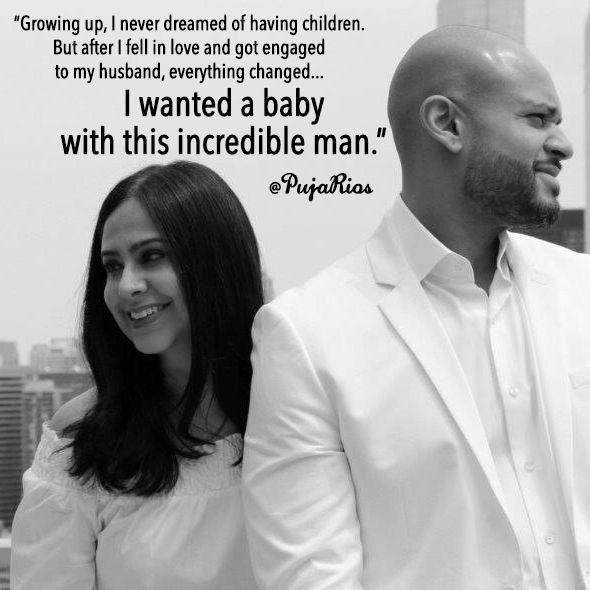 black and white photo of puta and her husband
