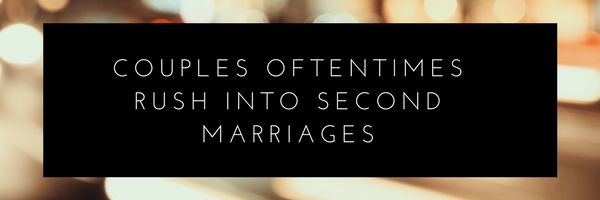 How to handle finances in a second marriage