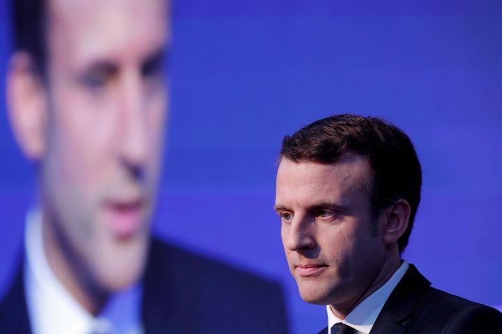 Emmanuel Macron, head of the political movement En Marche!, has been an increasing target ofRussian media.