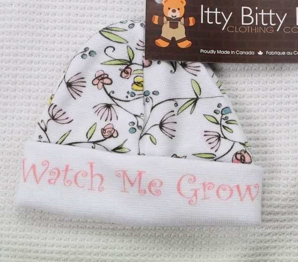 """$7.99, <a href=""""http://www.preemiestore.com/Itty-Bitty-Baby-MicroPreemie-Pink-Watch-Me-Grow-Hat--up-to-about-3-lbs_p_9569.htm"""