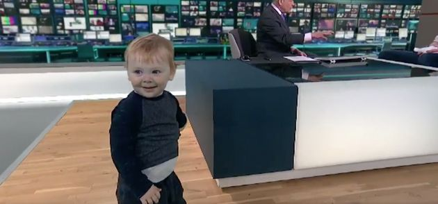 Toddler Runs Riot During Live ITV News Interview In Scenes That Will Look All Too Familiar To