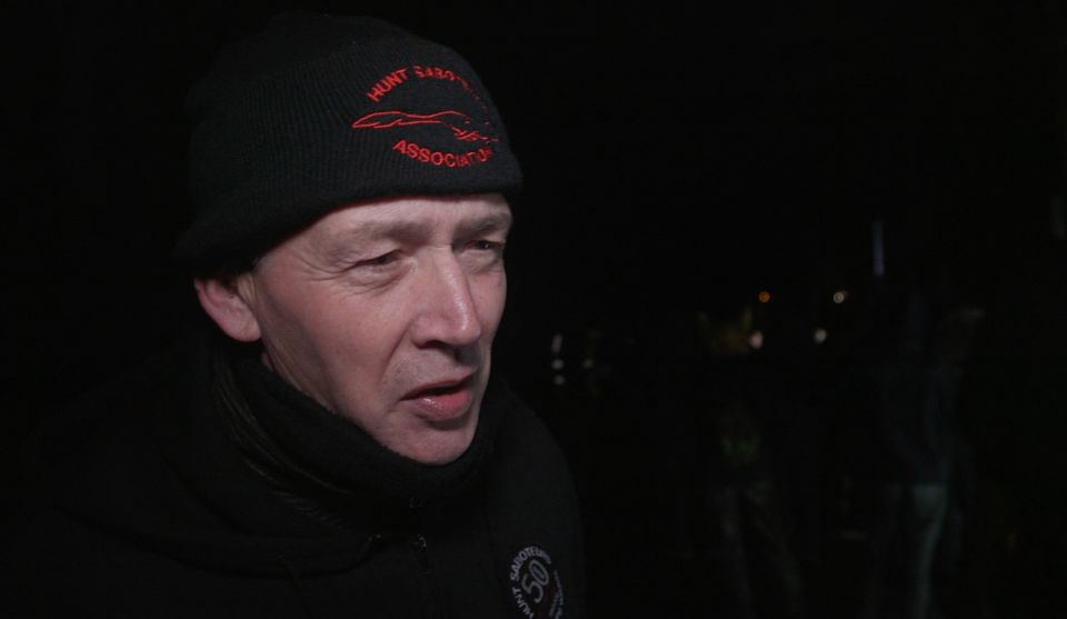This 64-year-old hunt sab told HuffPost UK he doesn't think people should be 'allowed to hunt innocent