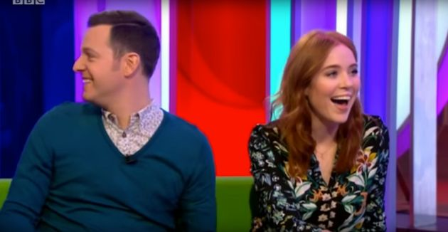 'One Show' hosts Matt Baker and Angela