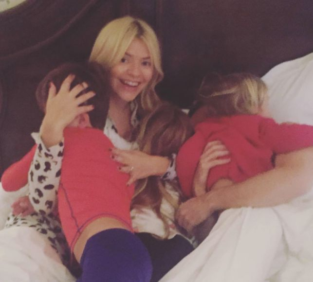 Holly Willoughby Opens Up About The Fears She Has For Her Kids Using Social