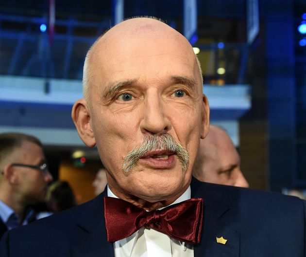 Janusz Korwin-Mikke said women should be paid less'because they are weaker, smaller and less