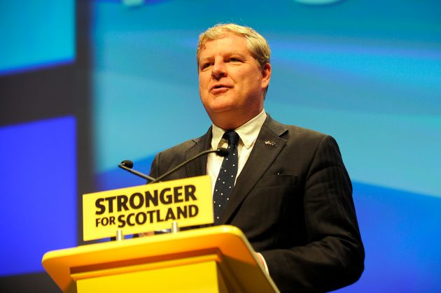 ANDY BUCHANAN via Getty Images Angus Robertson accused the PM of threatening Scottish jobs by pulling the country out of the EU