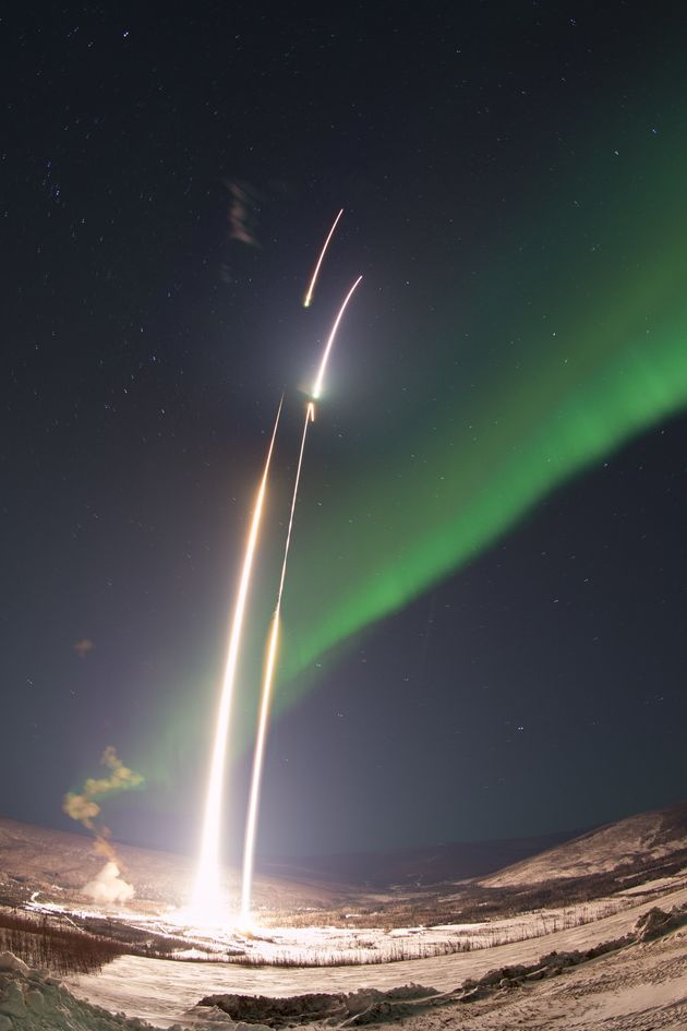 Have You Ever Seen A Rocket Launch As Beautiful As