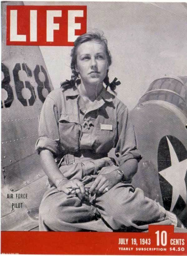 "In July 1943, Life magazine ran a feature about the <a href=""http://www.npr.org/2010/03/09/123773525/female-wwii-pilots-the-o"