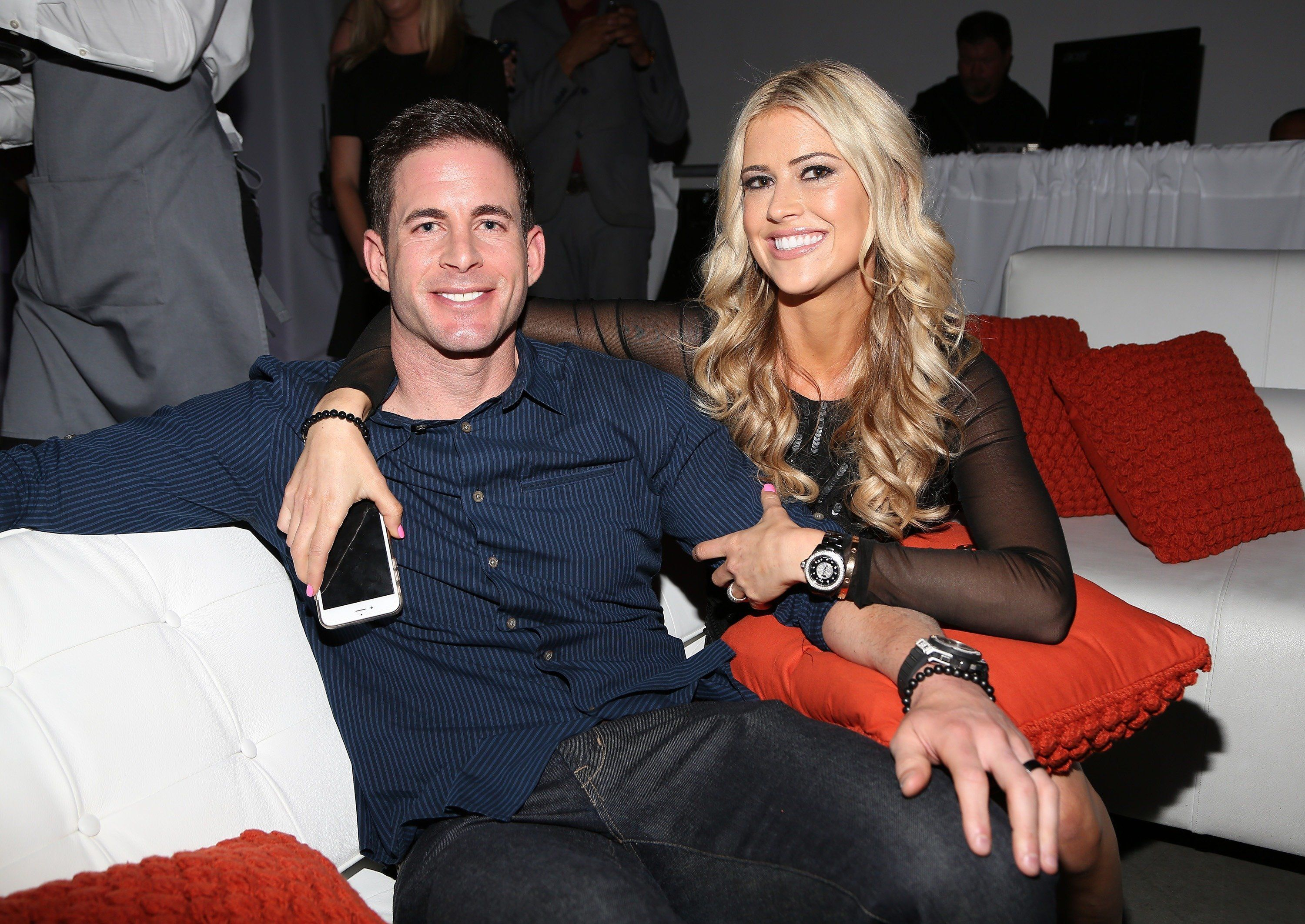 Tarek and Christina El Moussa in March 2016.