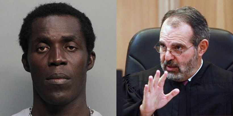 Left: Florida man illegally imprisoned due to Trump's sanctuary cities order. Right: Judge Milton Hirsch