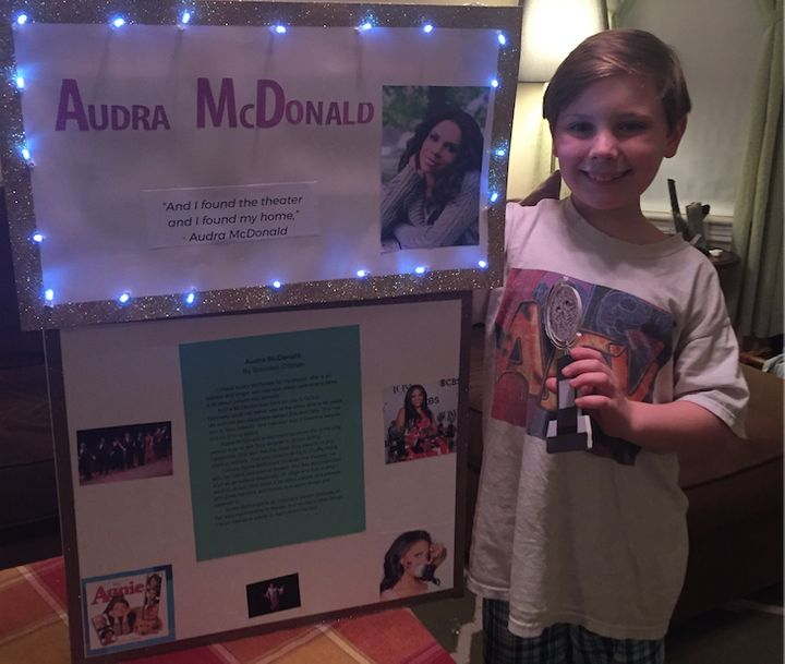 """We love that he has always felt comfortable being who he is in his school,"" Nicole said."