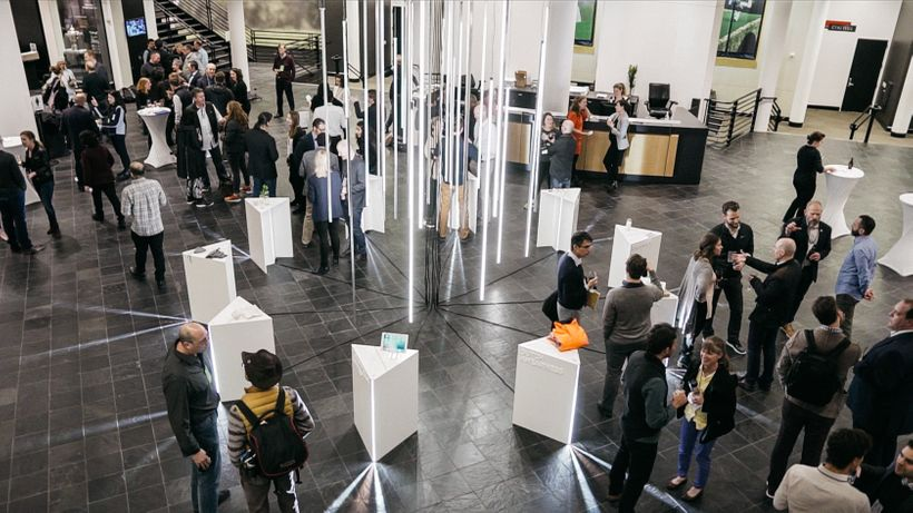 LAUNCH innovations displayed at the Nike headquarters in Portland as part of the Circular Innovation Summit on March 2, 2017.
