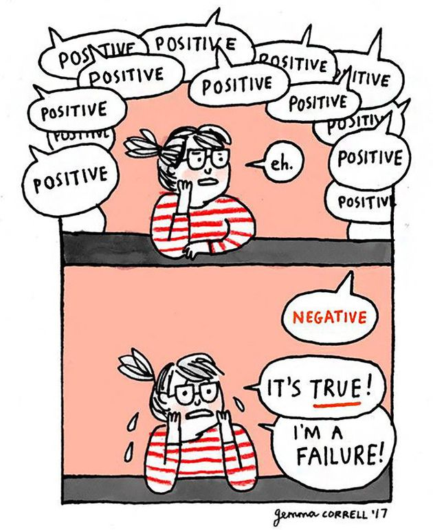 Artist Channels Her Anxiety And Depression Into Hilarious Comics Huffpost
