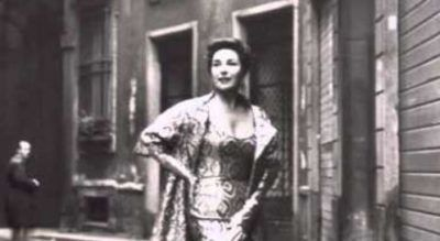 Soprano Phyllis Curtin in a public relations photo for Widmunf with baritone Bruno Amaducci