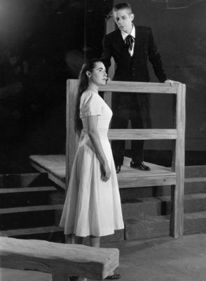 Phyllis Curtin and Norman Treigle in the New York City Opera's 1956 production of <em>Susannah</em>