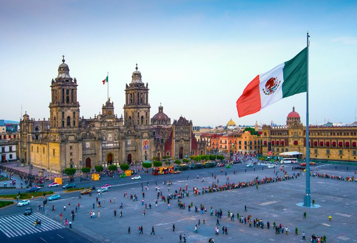 "The <a href=""https://www.lonelyplanet.com/mexico/mexico-city/attractions/zocalo/a/poi-sig/1169417/361544"" target=""_blank"">Zocalo</a>&nbsp;is the city's main plaza."