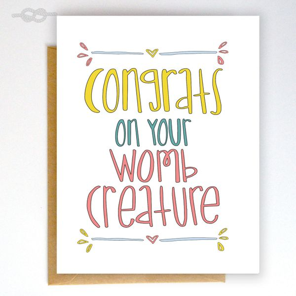 """$4.50, <a href=""""https://www.etsy.com/listing/229349858/funny-baby-shower-card-funny-greeting?ref=shop_home_active_8"""" target="""""""