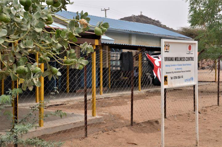 <p> <em>The Turkana Wellness Centre. </em></p>