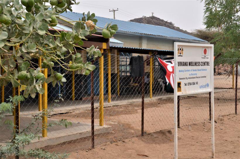 <em>The Turkana Wellness Centre. </em>