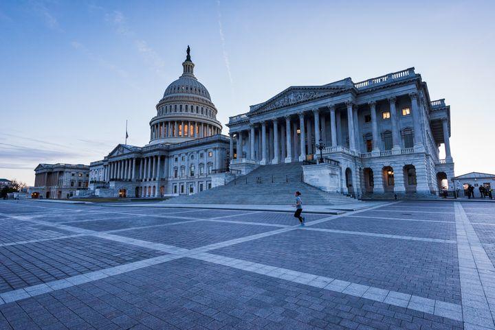 <p>The U.S. Capitol Building.</p>