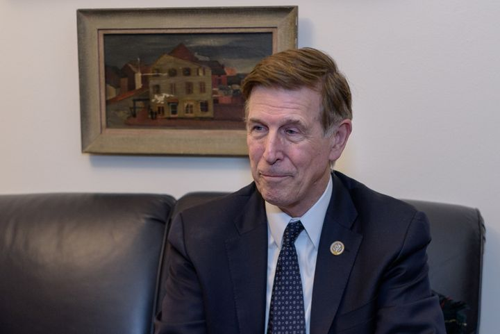 <p>Don Beyer's reaction was dismay when asked about racial injustice.</p>