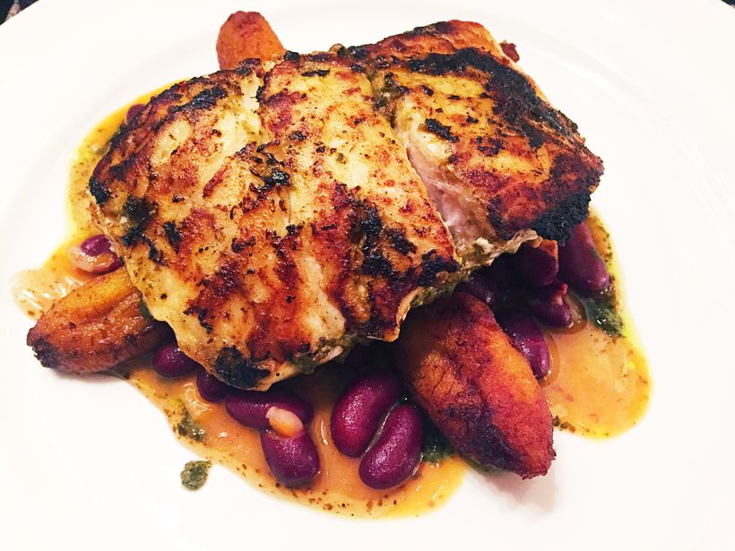 Jerk snapper at Hyatt Regency's Waterfront