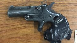 People Are Pretty Much Convinced This Confiscated Gun Came From A Time