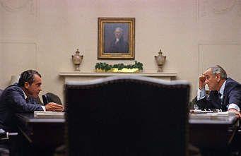 Nixon and Johnson, 1968