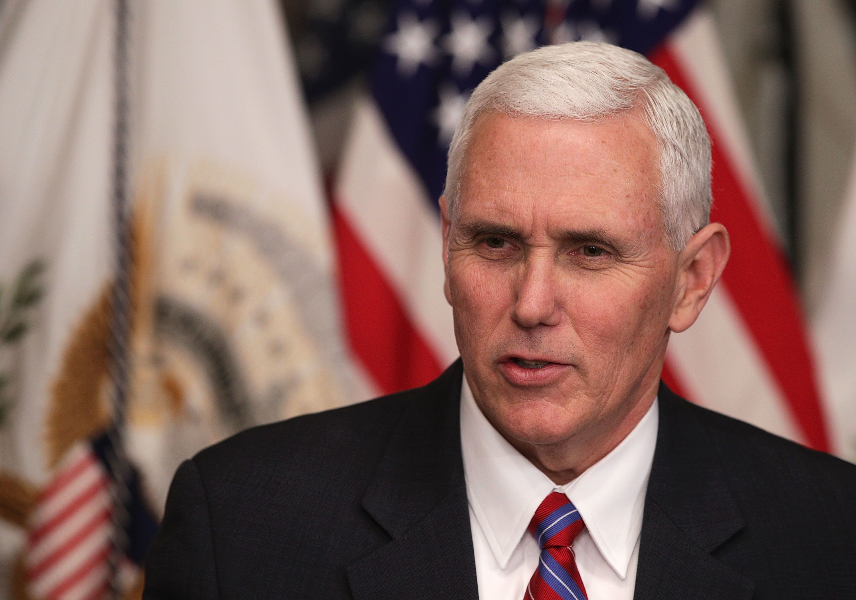 Mike Pence Rips The Press For Publishing His Wife's Email