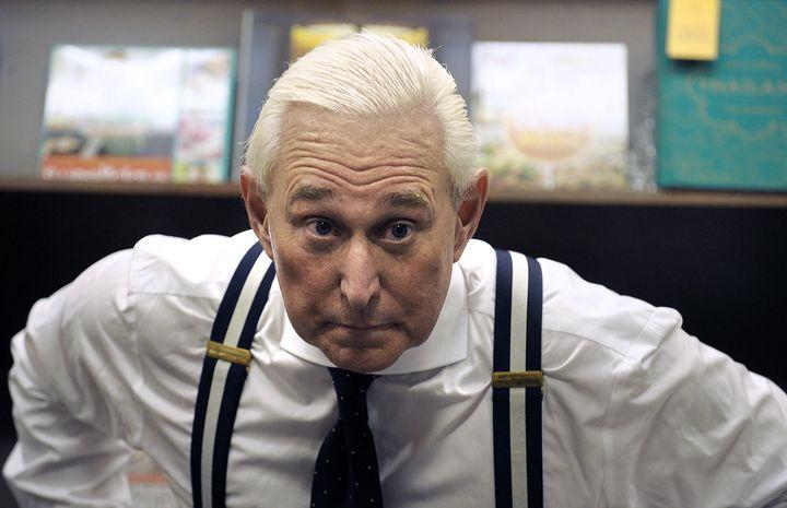 Longtime Donald Trump confidante and advisor Roger Stone.